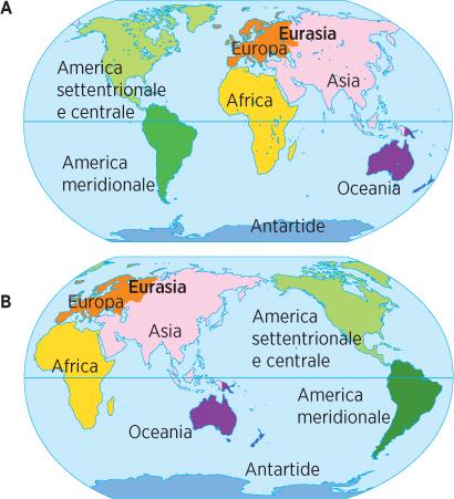 Cartina Fisica America Latina.Capitolo 4 Rilievi E Pianure D Europa