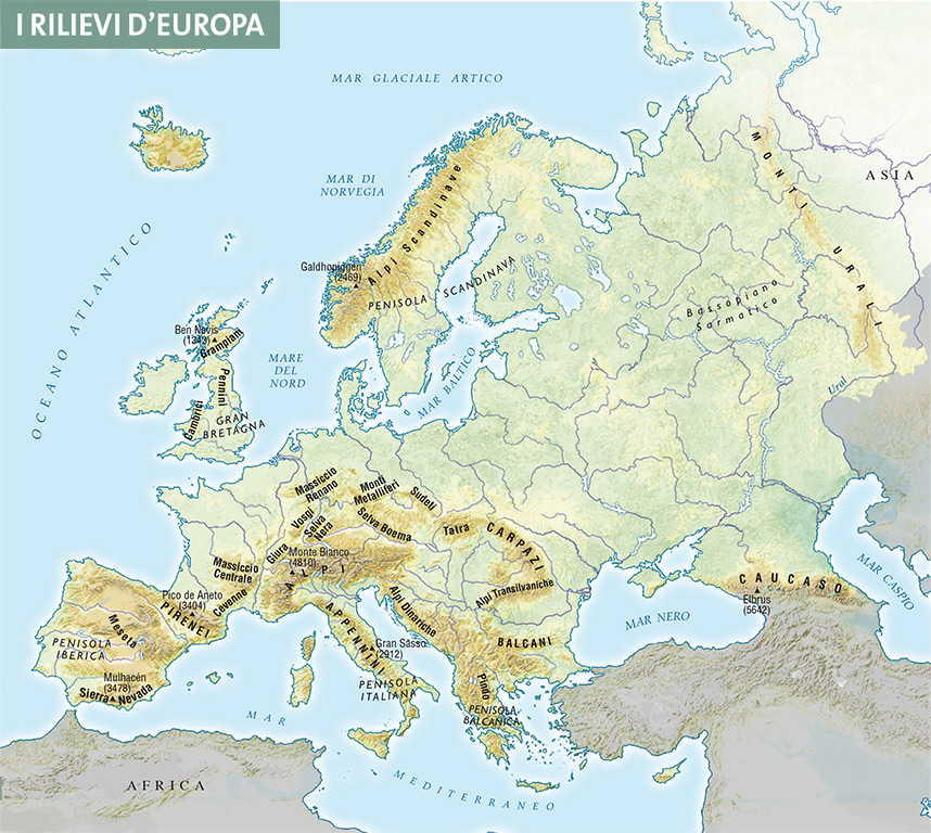 Capitolo 4 Rilievi E Pianure Deuropa