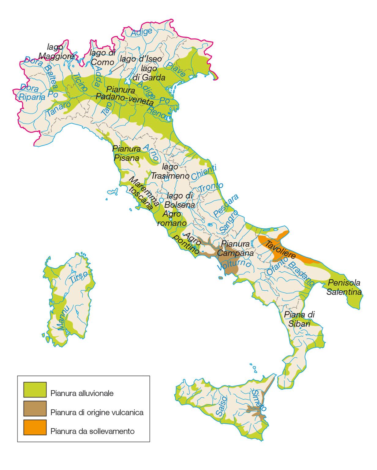 Italia Climatica Cartina.L Italia Al Centro Del Mediterraneo