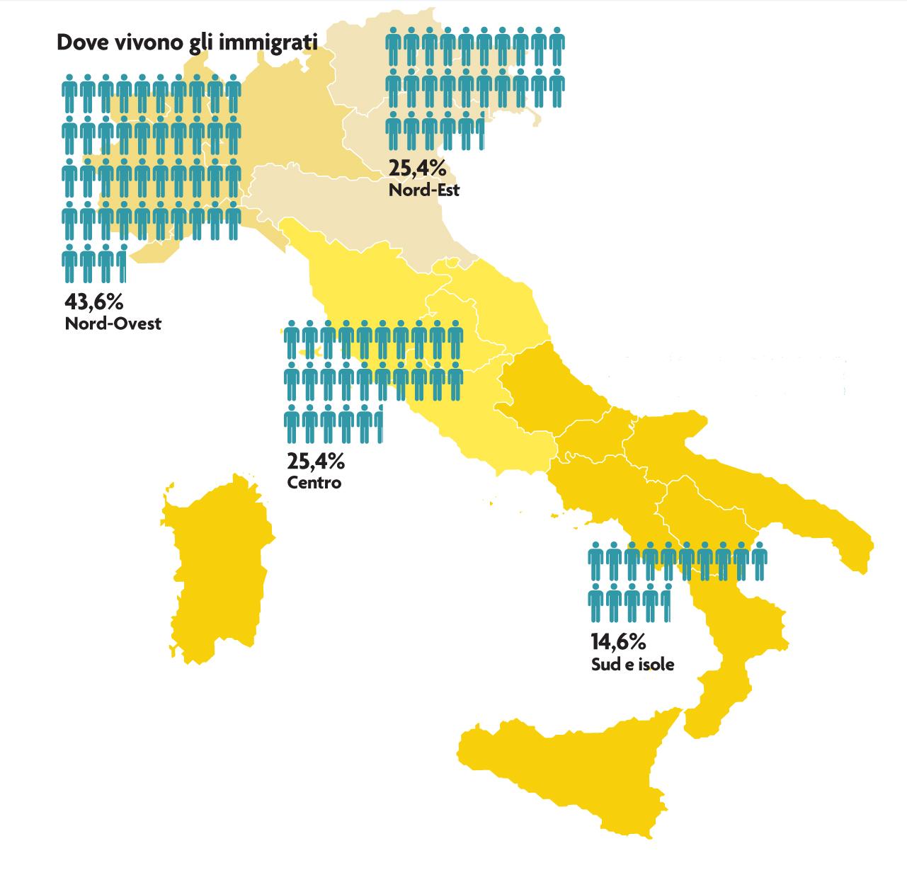Cartina Italia Nord Sud Est Ovest.L Italia Al Centro Del Mediterraneo